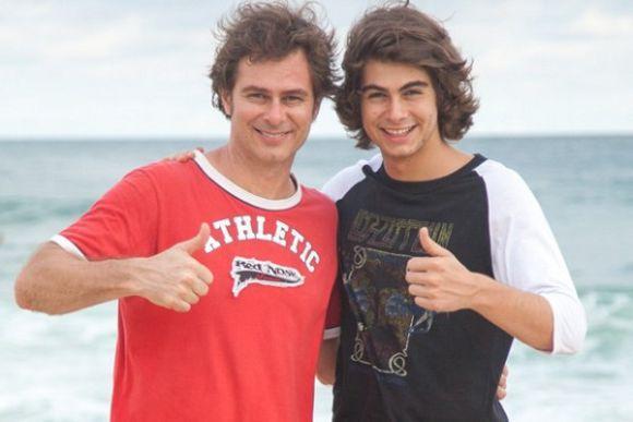 João Vitti e Rafael Vitti (Foto: Reprodução internet)