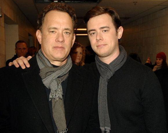 Tom Hanks e Colin (Foto: Reprodução internet)