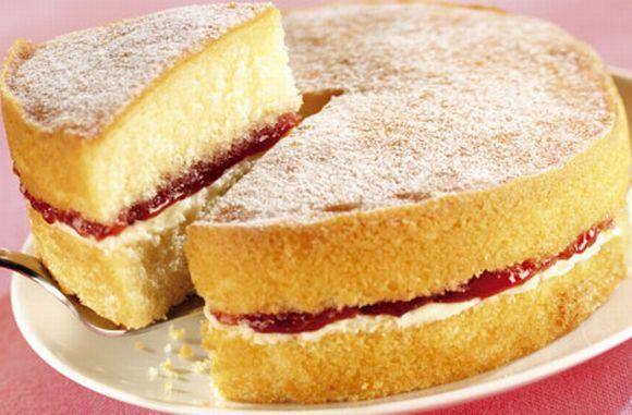 O pão de ló pode ser a base para vários tipos de bolos e sobremesas (Foto Ilustrativa)