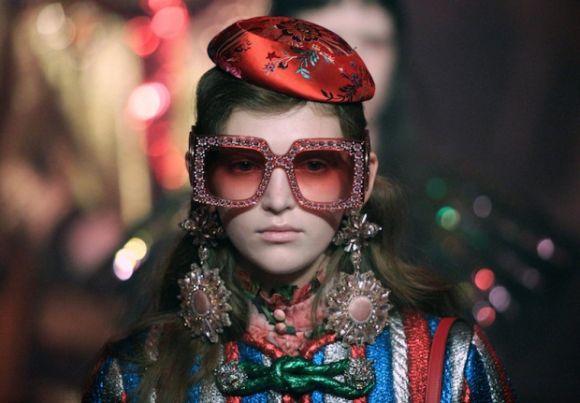 A nova coleção da Gucci chamou a atenção (Foto: Reprodução)