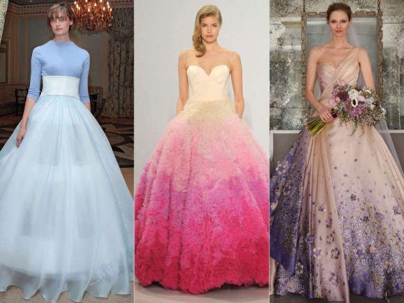 Conheça as cores de vestidos para noivas que vão fazer sucesso em 2017 (Foto Ilustrativa)