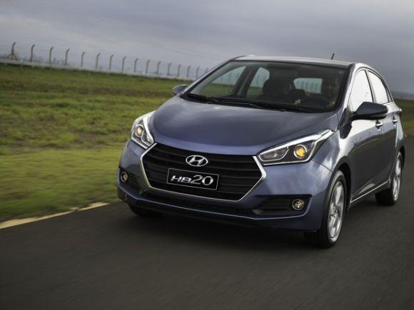 O Hyundai HB20 1.6 AT também está na lista (Foto: Divulgação Hyundai)