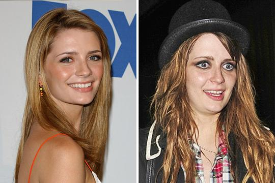 10 celebridades antes de depois do uso de drogas Mischa Barton (Foto: Divulgação)
