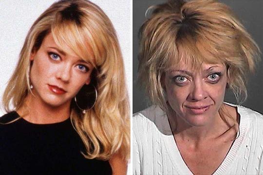 10 celebridades antes de depois do uso de drogas - Lisa Robin Kelly (Foto: Divulgação)