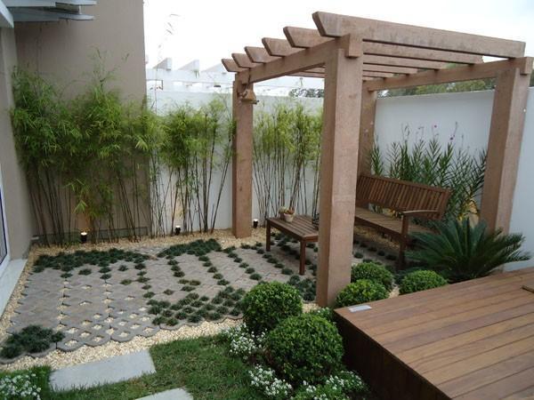 O pergolado de madeira pode salvar seu ambiente (Foto: Divulgação)