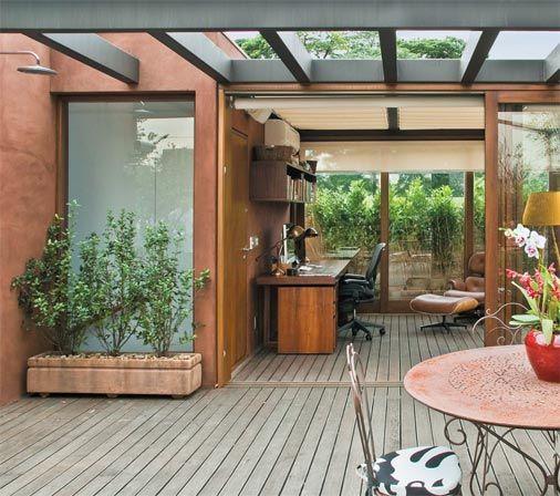 Decoração com pergolado para a sua casa ficar mais bonita (Foto: Divulgação)