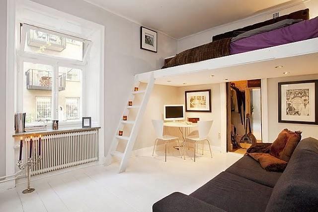 Aposte em um mezanino lindo para ser um quarto diferente (Foto: Divulgação)