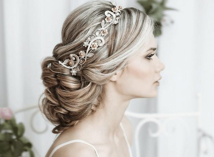 Alguns penteados para noivas precisam mesmo ser mais chamativos (Foto: Divulgação)