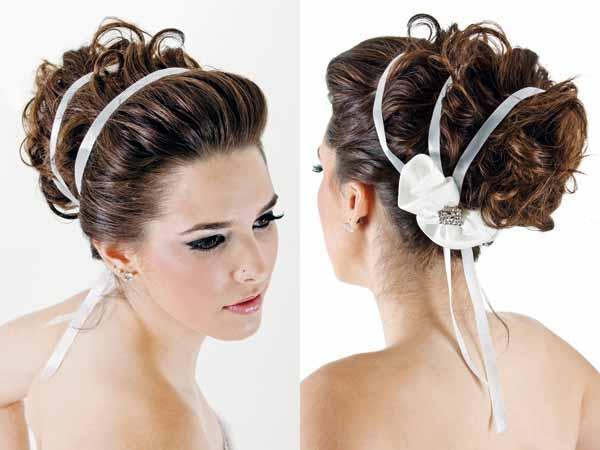 Penteado diferente para noivas são a nova tendência (Foto: Divulgação)