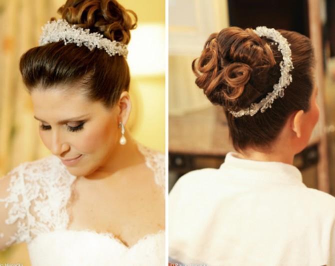 Penteados para noivas no geral são mais imponentes (Foto: Divulgação)
