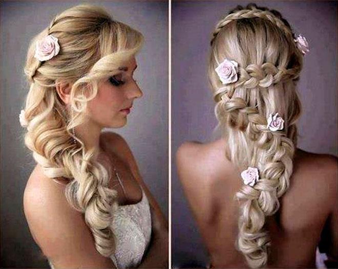 Veja como esse penteado de noiva está entre os mais lindos que você já viu (Foto: Divulgação)