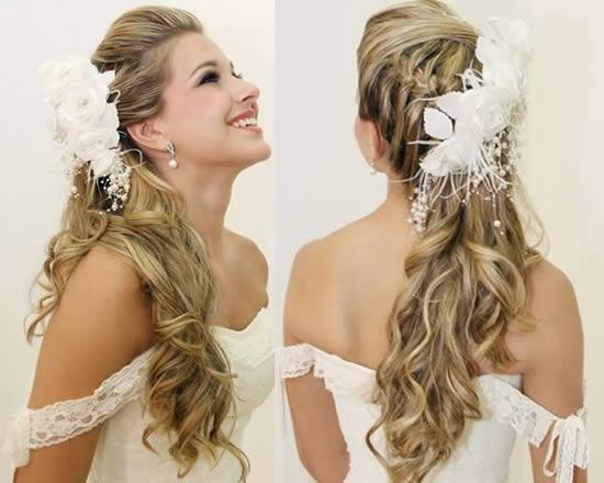 Modelo de penteado para noiva (Foto: Divulgação)