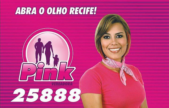 Pink: ex-BBB (Foto: Divulgação)