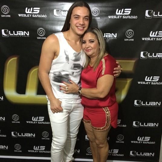 Dona Bill: mãe de Wesley Safadão (Foto: Divulgação)