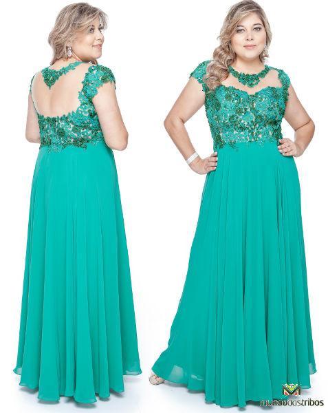 A escolha do vestido com caimento certo faz toda a diferença (Foto: blogmurelhão)