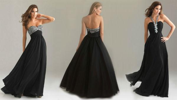 Vestido preto para formatura (Foto: vestidododia)