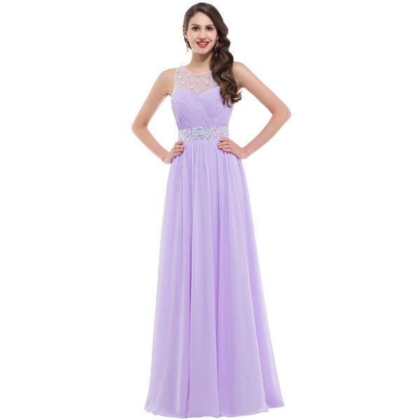 Vestido lilás para formatura (Foto: aliexpress)