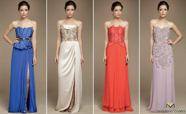 Aposte em vestidos longos e mais justos ao corpo (Foto vestidosparaformatura)