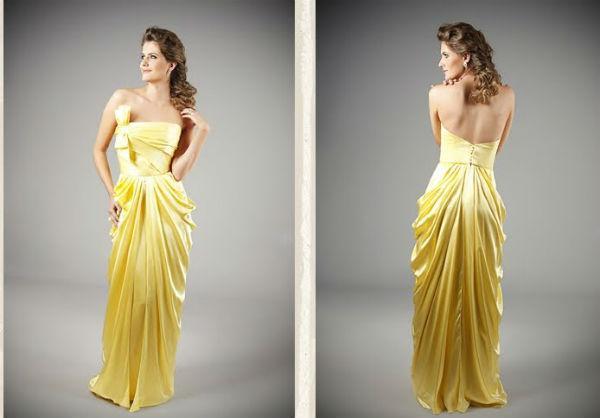Vestido de formatura amarelo (Foto: Somos Perfeitas)