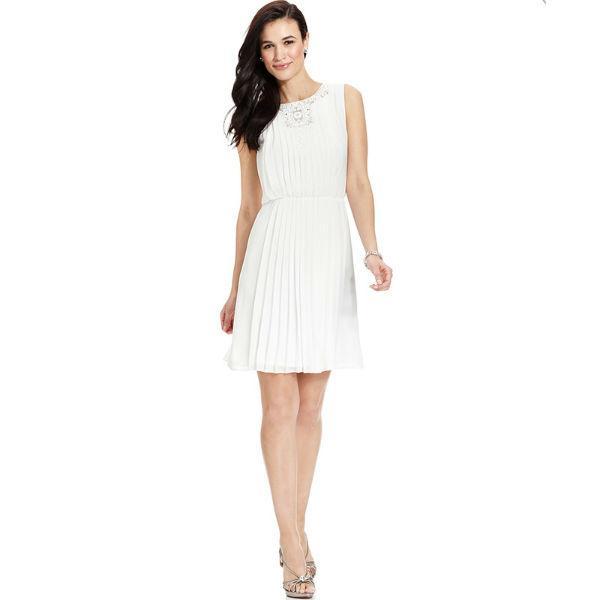 Vestido de formatura branco (Foto: Aliexpress)