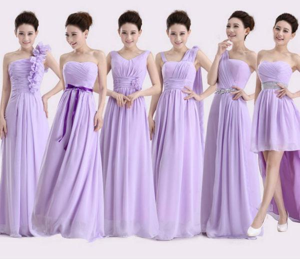 Vestido de formatura lilás 2 (Foto: Aliexpress)