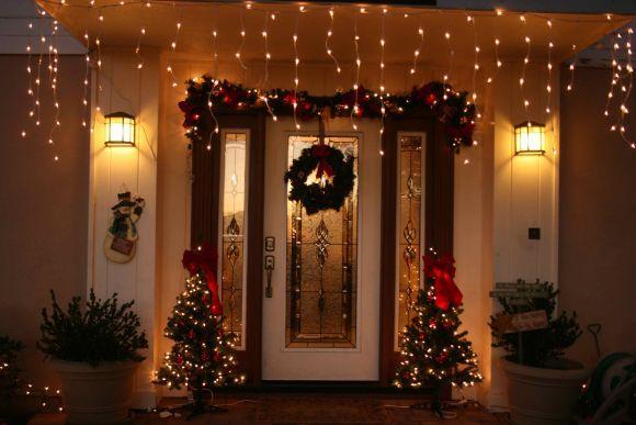 A casa ganha uma outra cara com a decoração natalina (Foto Ilustrativa)