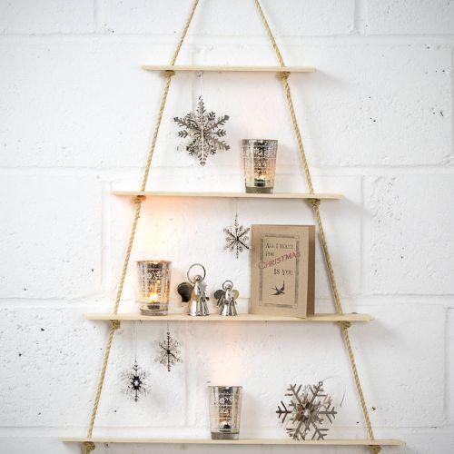 É possível fazer árvores de natal de diferentes maneiras (Foto Ilustrativa)