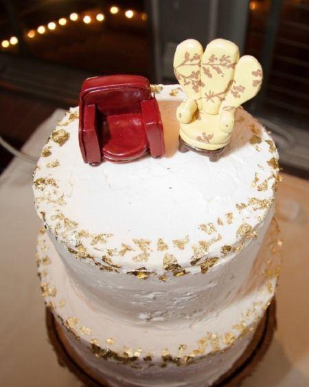 O bolo teve a animação Up - Altas Aventuras como inspiração (Foto: Reprodução internet)