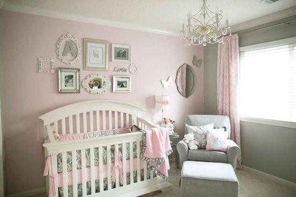 O quarto de bebê em estilo provençal é bastante popular (Foto Ilustrativa)