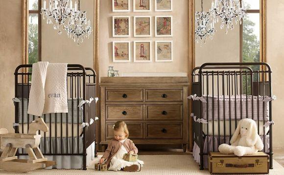 Outra alternativa interessante é o quarto de bebê retrô (Foto Ilustrativa)