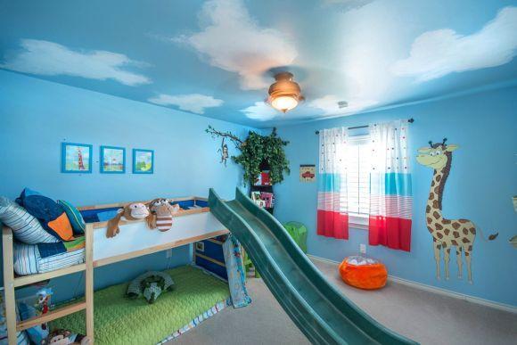 No quarto das crianças não pode faltar lugar para brincar (Foto Ilustrativa)