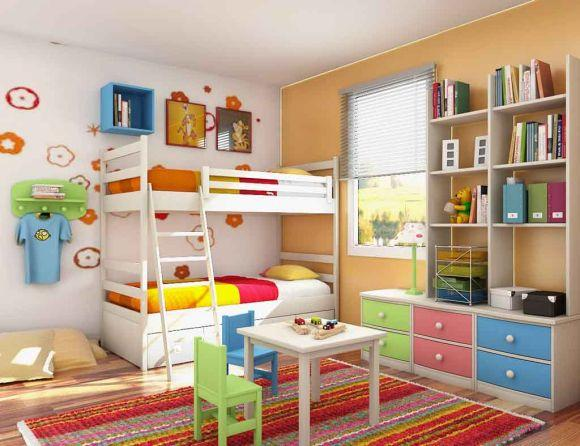 Decoração para quartos de bebês e crianças 2017 (Foto Ilustrativa)