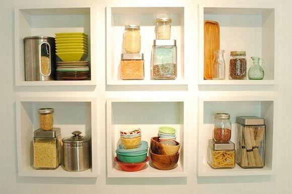 Nichos para cozinhas (Foto Ilustrativa)