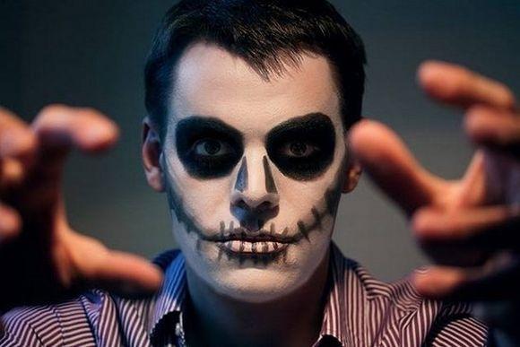 Maquiagens masculinas para Dia das Bruxas (Foto Ilustrativa)