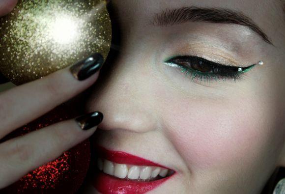 Maquiagens para o Natal 2016 (Foto Ilustrativa)