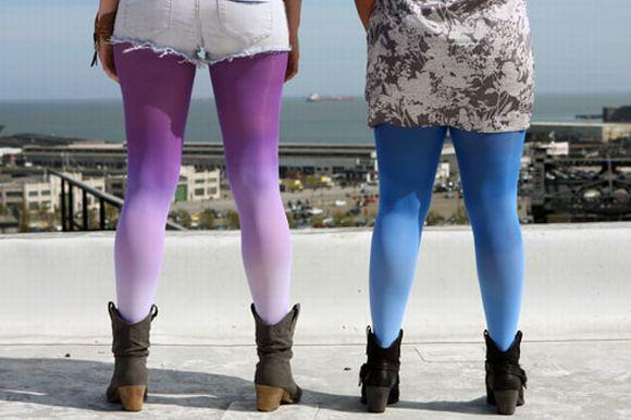 Algumas cores podem deixar as pernas mais grossas ou mais finas (Foto Ilustrativa)
