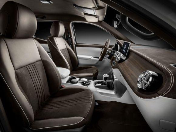 O interior promete ser bastante luxuoso (Foto: Divulgação Mercedes-Benz)