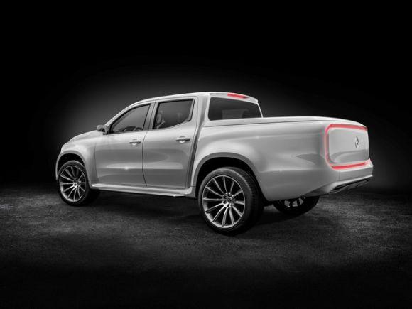 Por enquanto, a Classe X ainda é um modelo conceitual (Foto: Divulgação Mercedes-Benz)
