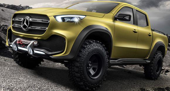 O modelo terá diferentes opções de motorização (Foto: Divulgação Mercedes-Benz)
