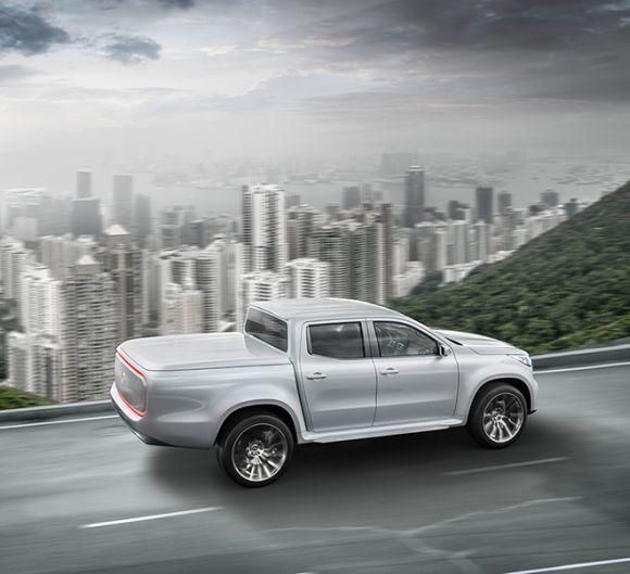 A Mercedes Classe X no Brasil deve chegar só em 2018 (Foto: Divulgação Mercedes-Benz)
