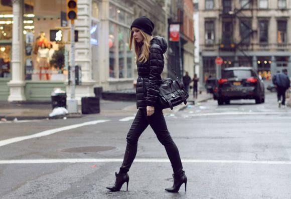As puff jackets ganham novos modelos, de estilo mais urbano (Foto Ilustrativa)