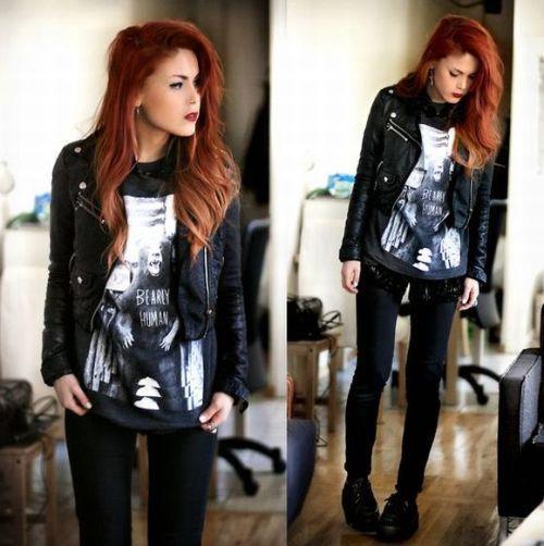 Moda Rocker: looks e estilos (Foto Ilustrativa)