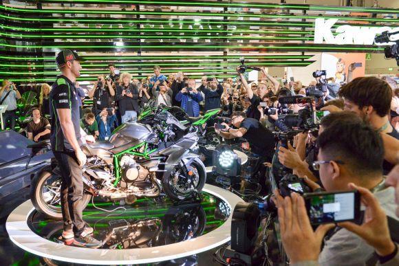 Novidades da Kawasaki para 2017 (Foto: Divulgação Intermot)
