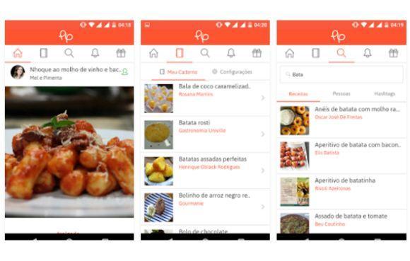 Também dá para acessar a rede social PIP no celular (Foto: Divulgação PIP)