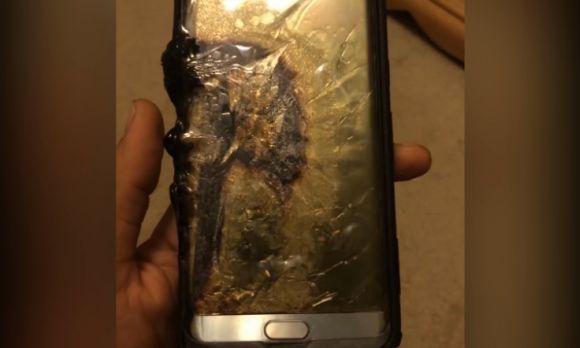 Mesmo os aparelhos que foram trocados continuaram a explodir (Foto: Reprodução internet)