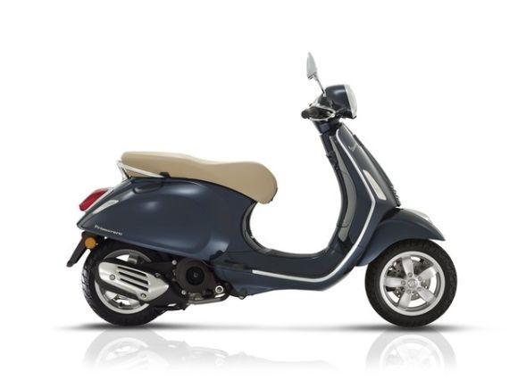 A Nova Vespa tem design inspirado na versão clássica do scooter italiano (Foto: Divulgação Vespa Brasil)