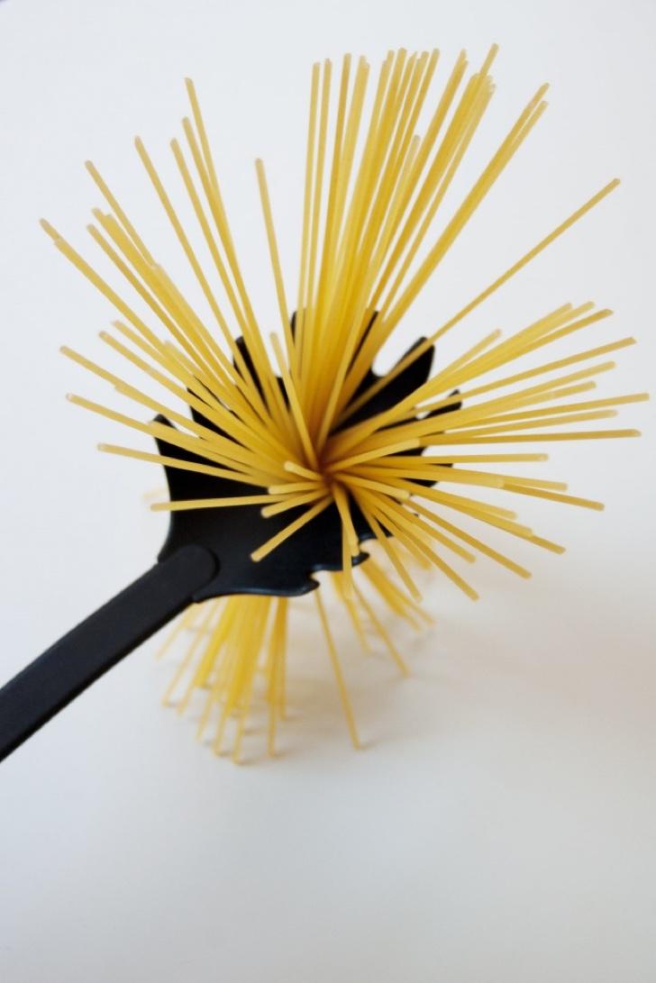 Pegador de macarrão serve para medir (Foto: Divulgação)