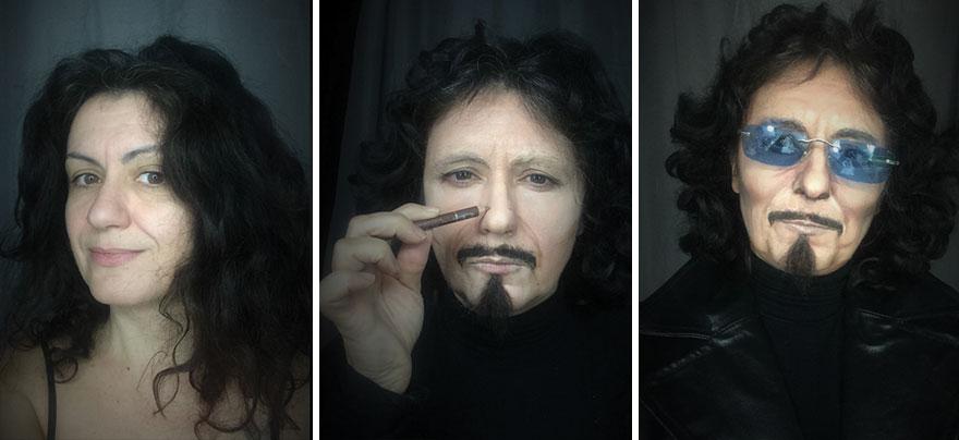 Maquiadora impressiona ao fazer 10 maquiagens incríveis (Foto: Divulgação)