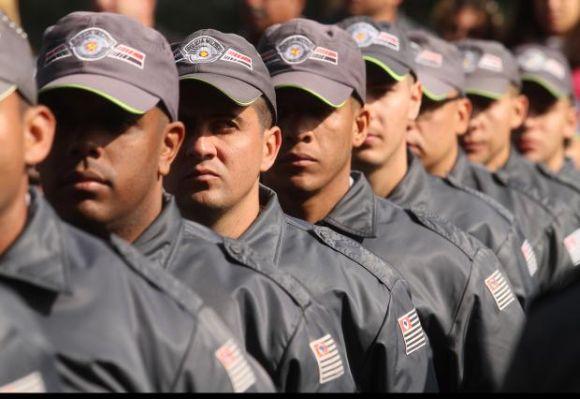 Quem passar no concurso irá participar do curso de formação de soldados da PM (Foto: Divulgação PM-SP)