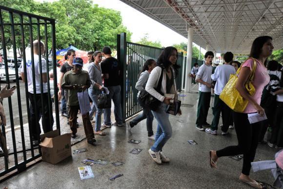 Milhões de pessoas participaram do exame em todo o Brasil (Foto: Reprodução EBC)